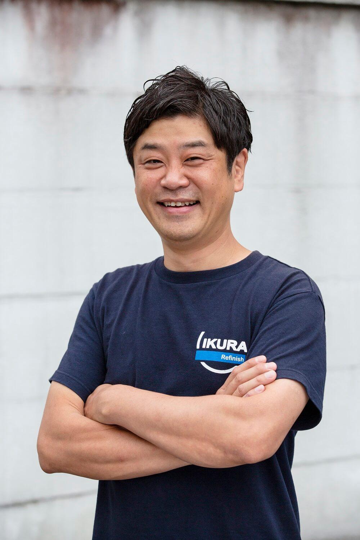 日本自動車車体整備協同組合連合会青年部会 部会長 伊倉大介